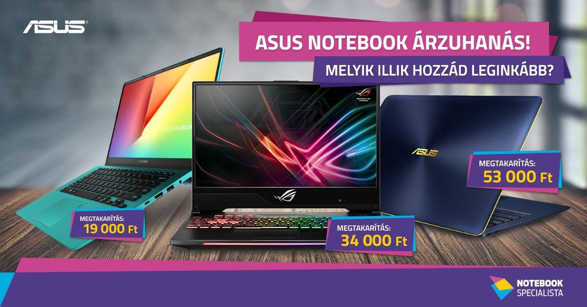 9c0885058f03 ASUS notebook akció!