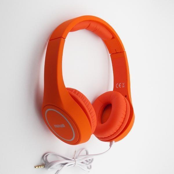 MAXELL MXH-HP500 PLAY Fejhallgató Narancssárga (303637.00.CN) 540bf67658