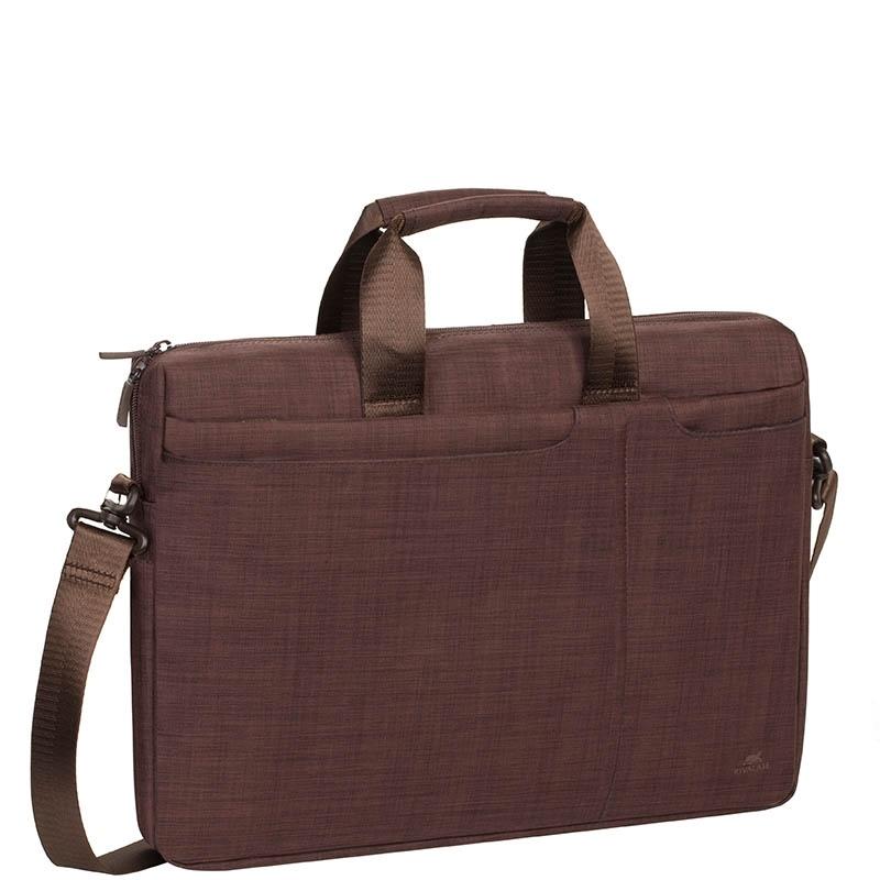 8fb8390a0747 RivaCase 8335 Biscayne 15,6 Barna Notebook táska(4260403570807)