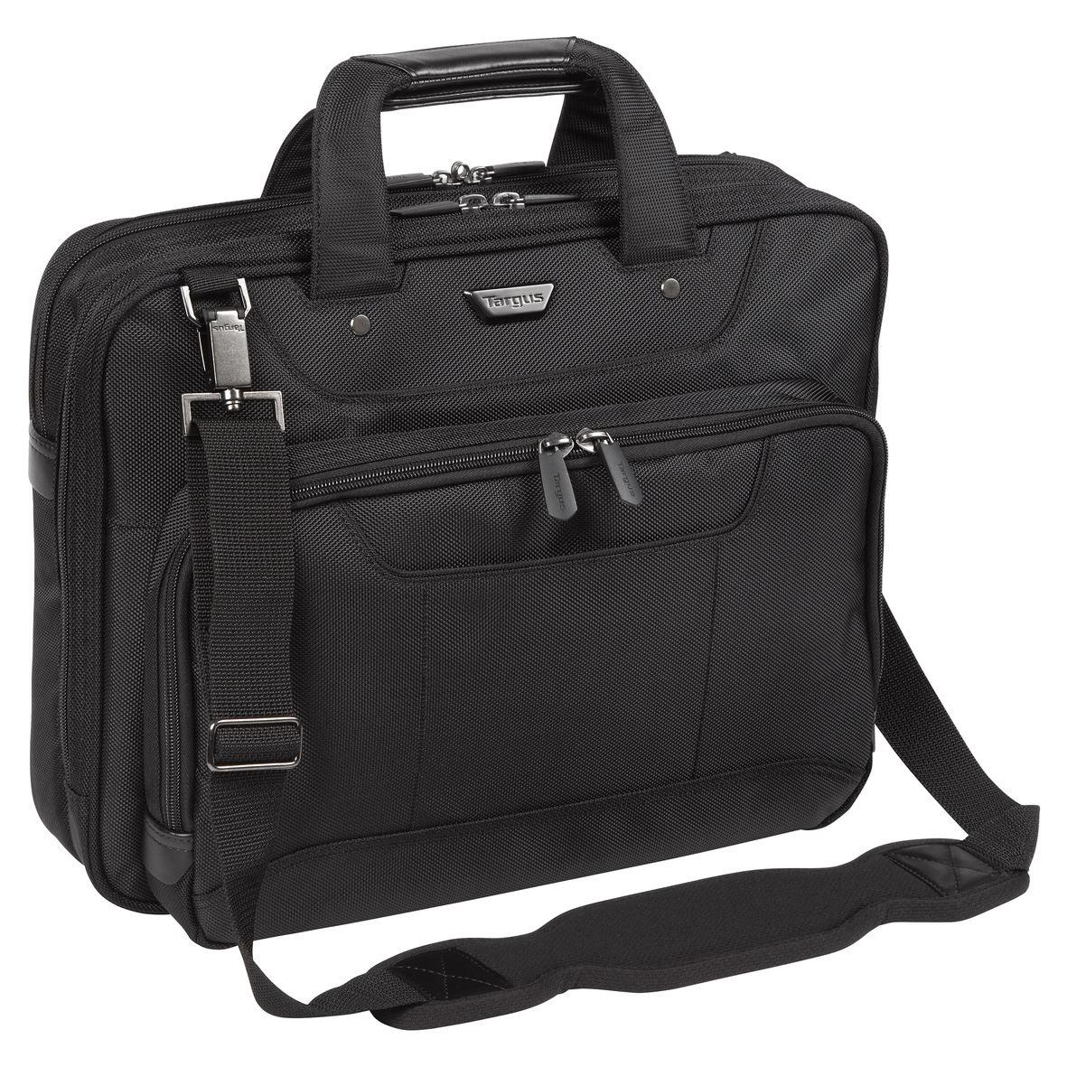 Targus Corporate Traveller Notebook Táska Fekete (CUCT02UA14EU) c2534b7aee