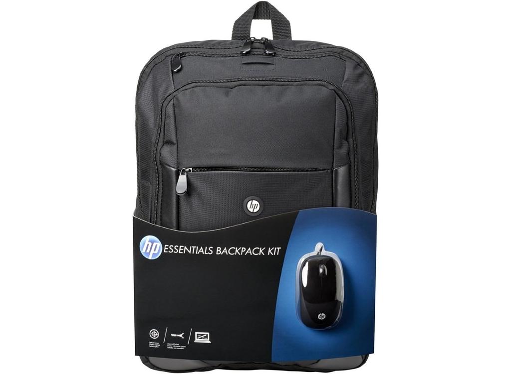 HP Essentials Backpack Notebook Hátizsák Készlet (E5L03AA) 5144f59b84