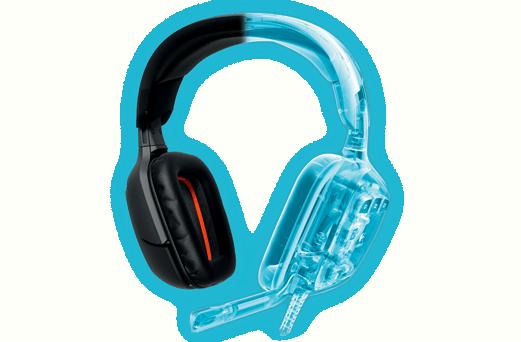 LOGITECH G930 vezeték nélküli gaming fejhallgató (981-000550) a6371a909c
