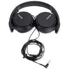 Sony MDR-ZX110APB fekete mikrofonos fejhallgató (MDRZX110APB.CE7) 45d8c94b92