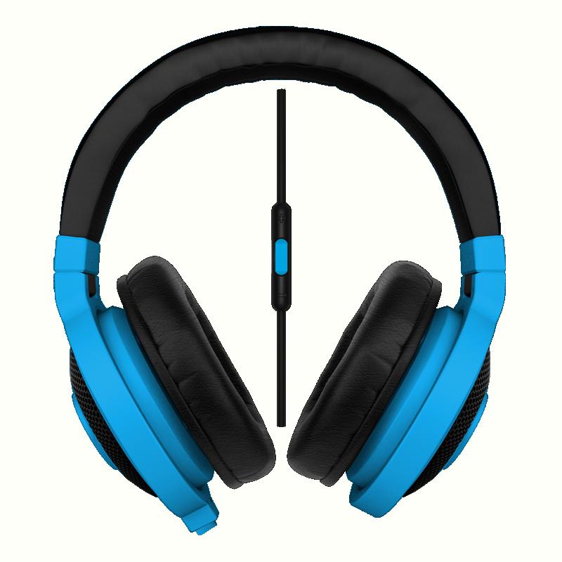 Razer Kraken Mobile mikrofonos kék gamer headset (RZ04-01400600-R3M1) e1dd1242d5