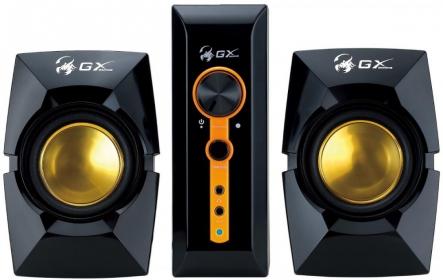 Genius SW-G2.1 3000 Fekete-Arany Gamer Hangszóró (31731016100)