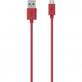 Belkin F2CU012BT2M-RED piros micro USB kábel