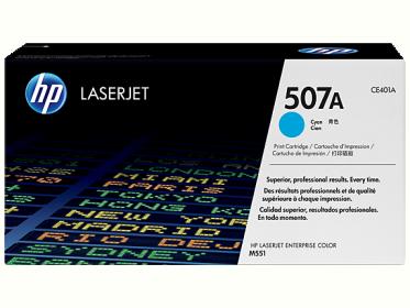 HP 507A ciánkék toner (CE401A)