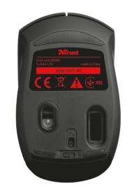 Trust Ovi wireless optikai piros-fekete egér (20263)
