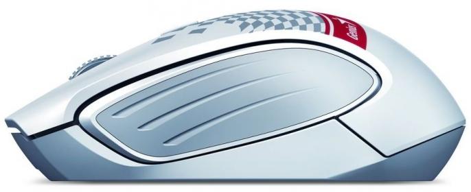 Genius DX-6800 Tattoo wireless optikai fehér mintás egér (31030115112)