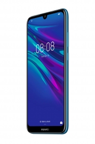Huawei Y6 2019 Dual Sim Zafírkék Okostelefon (51093KGY)