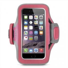 Belkin Bracelet iPhone 6/6S rózsaszín-szürke sport karpánt telefontok (F8W499BTC01)