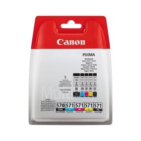 Canon PGI-570/CLI-571 PGBK/C/M/Y/BK Multipack Tintapatron (0372C004)