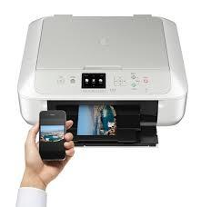 Canon Pixma MG5751 Fehér Multifunkciós Nyomtató (0557C026)
