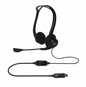 LOGITECH Corded PC 960 Stereo Headset (981-000100)