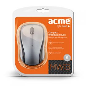 ACME MW-13 wireless optikai szürke egér