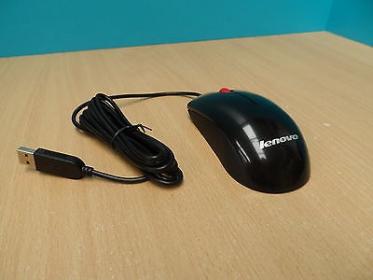 LENOVO 41U3074 USB-PS/2 lézer fekete egér (41U3074)