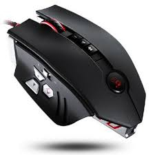 A4-Tech Bloody Sniper ZL5A USB lézer fekete-piros gamer egér