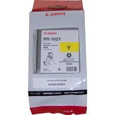 Canon PFI-102Y sárga tintapatron (0898B001AA)