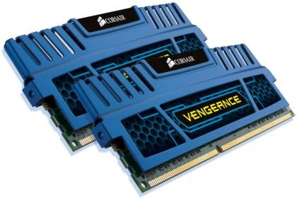 Corsair Vengeance 4GB (2x2GB)1600MHz DDR3  Kék (CMZ4GX3M2A1600C9B)