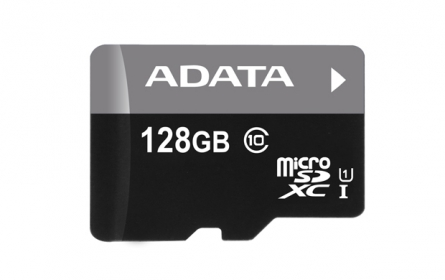 ADATA Premier Micro SDXC UHS-I 128GB +SDHC Adapter (AUSDX128GUICL10-RA1)