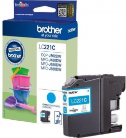 Brother LC221C Tintapatron (LC221C)