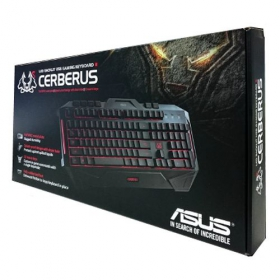 ASUS CERBERUS USB magyar gamer billentyűzet (CERBERUS/GAMING/KEYBOARD)