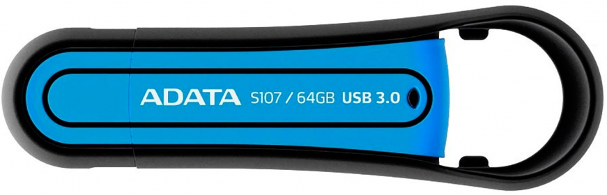 ADATA S107 64GB USB Kék Pendrive (AS107-64G-RBL)