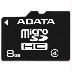 ADATA Micro SDHC 8 GB Class 4 memóriakártya (AUSDH8GCL4-R)