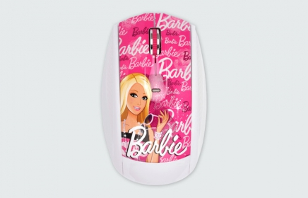 MODECOM MC-619 ART Barbie 2 wireless optikai egér (M-MC-0619-ART-BARBIE-2)