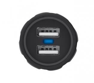 Trust Urban fekete dupla USB-s autós töltő okostelefonhoz (20155)