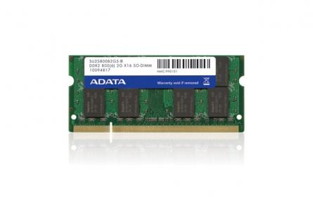 Adata DDR2  1GB 800MHz CL6 1.8V (AD2U800B1G6-R/S)