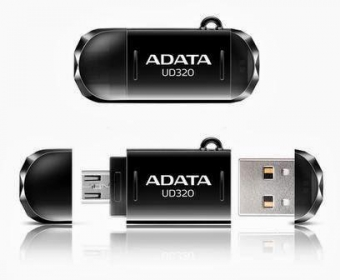 ADATA memory USB UD320 32GB Fekete (AUD320-32G-RBK)