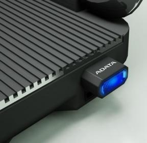 ADATA V3 memóriakártya olvasó Fekete-Kék (AM3RBKBL)