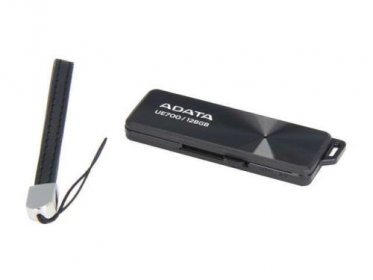 ADATA DashDrive Elite UE700 128GB USB 3.0 Fekete (AUE700-128G-CBK)