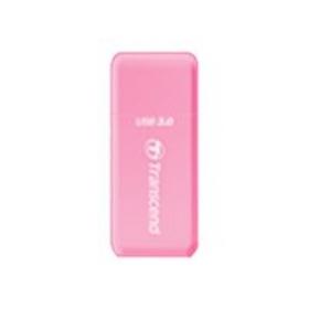 Transcend USB3.0 memóriakártya Olvasó Pink (TS-RDF5R)