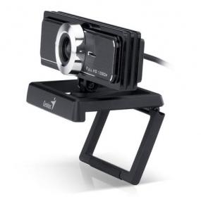 Genius WideCam F100 USB fekete webkamera (32200213101/ 32200312100)