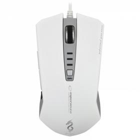 ESPERANZA DRAGON USB optikai gamer fehér egér (EM122W)