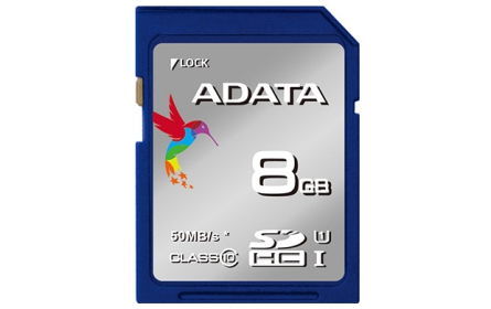 ADATA SDHC UHS-1 8GB Class 10 PHOTO/VIDEO memóriakártya (ASDH8GUICL10-R)