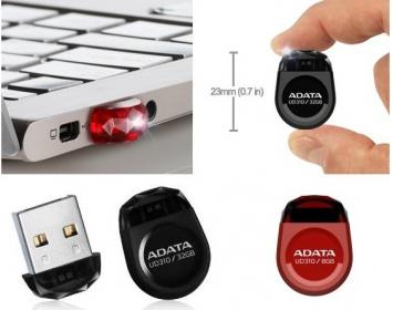 ADATA D310 Dash Drive 8GB Fekete pendrive (AUD310-8G-RBK)