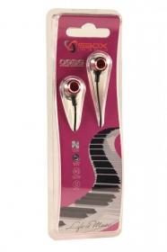 Sbox 0926P pink fém házas fülhallgató