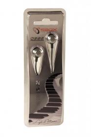 Sbox 0926S ezüst fém házas fülhallgató