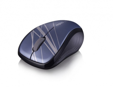 RAPOO 3100P USB optikai kék mintás egér (142023)