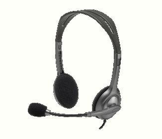 Logitech H111 mikrofonos ezüst fejhallgató (981-000593)