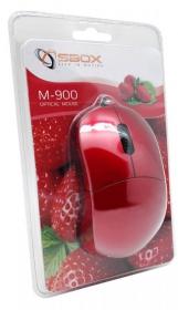 Sbox M-900R USB optikai piros egér