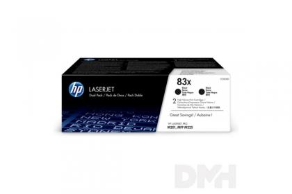 HP  duo-pack nagykapacítású toner (CF283XD)