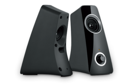 LOGITECH Z320 Fekete Hangszóró (980-000331)