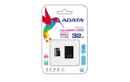 ADATA Micro SDHC UHS-I 32GB Memória kártya+ Micro olvasó (AUSDH32GUICL10-RM3BKBL)