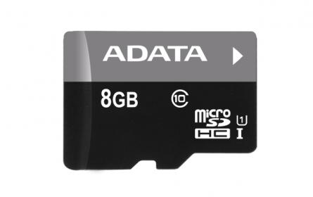 ADATA Micro SDHC CLass10 8GB Memóriakártya (AUSDH8GUICL10-R)