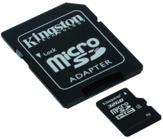 KINGSTON Memóriakártya  32GB + Adapter (SDC4/32GB)