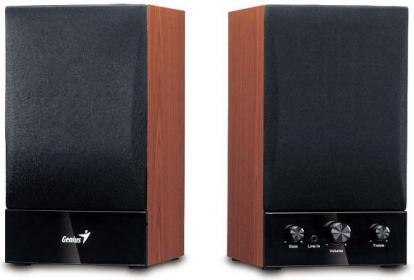 GENIUS SP-HF1250B Fekete-Cseresznyefa Hangszóró